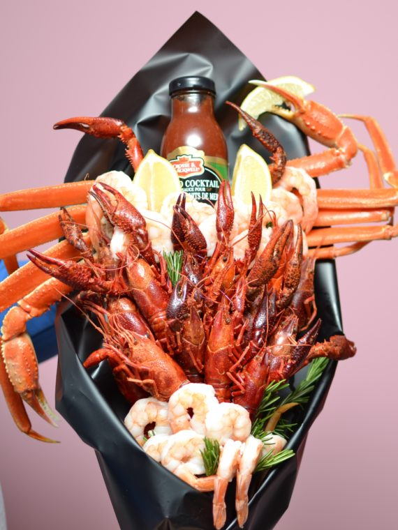 Crab Seafood Bouquet Small Size (3)